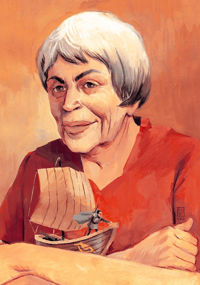 portrait by Frederico Piatti