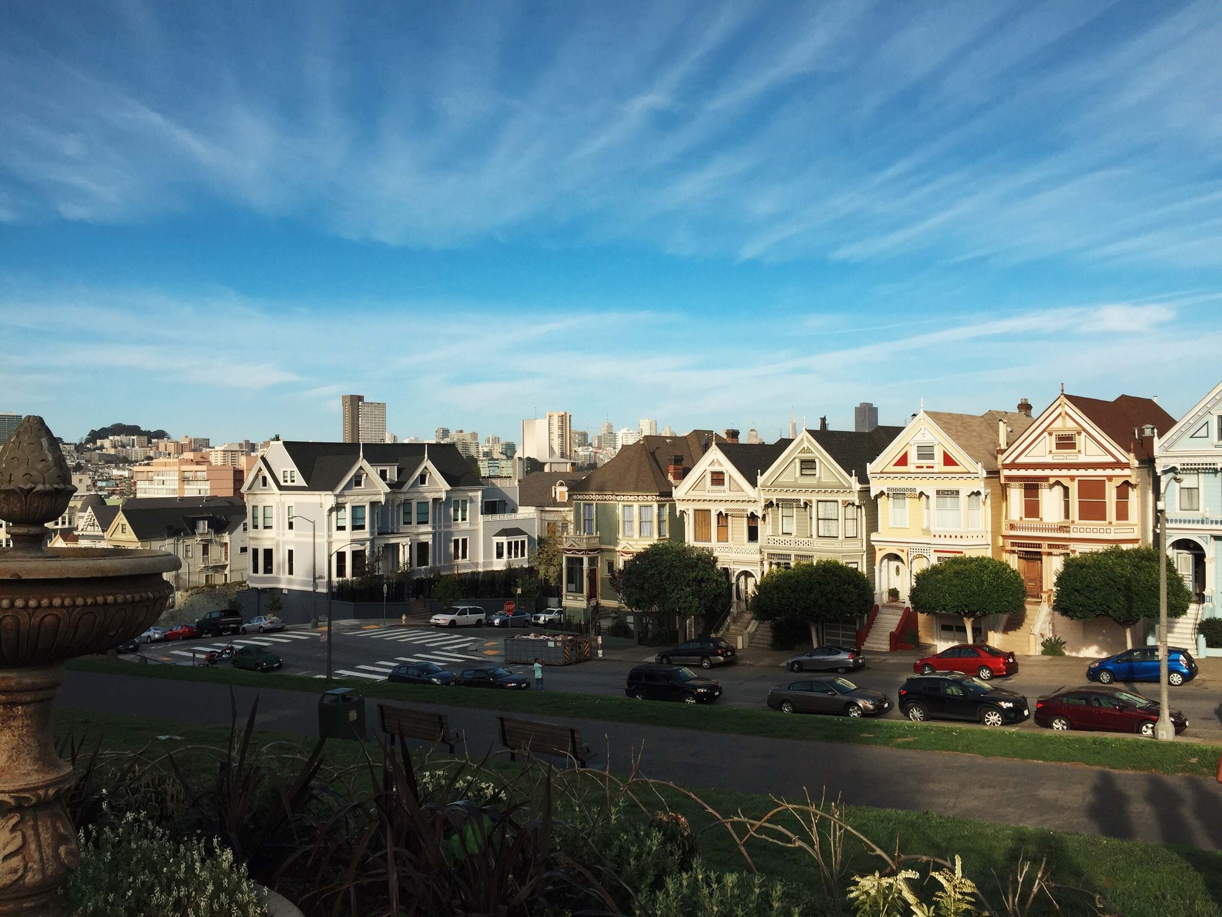 "San Francisco's ""Painted Ladies"""