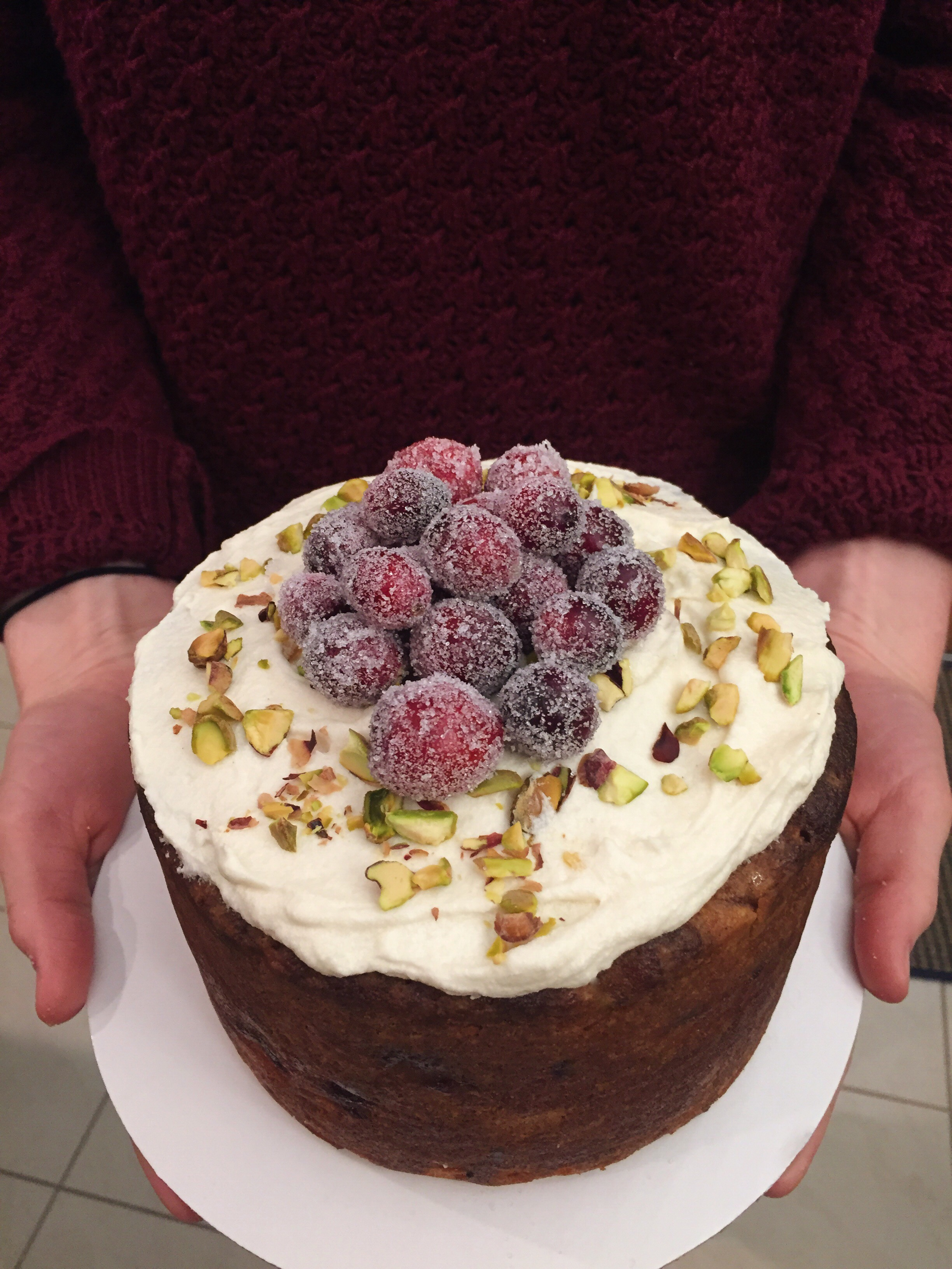Cranberry Ginger Cake