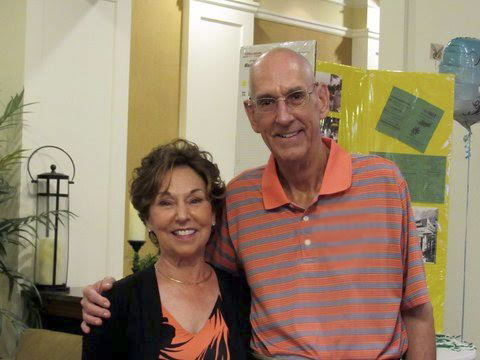 MariJo 'Joby'Kirtland and David L Kirtland are pictured at a recent reunion event.