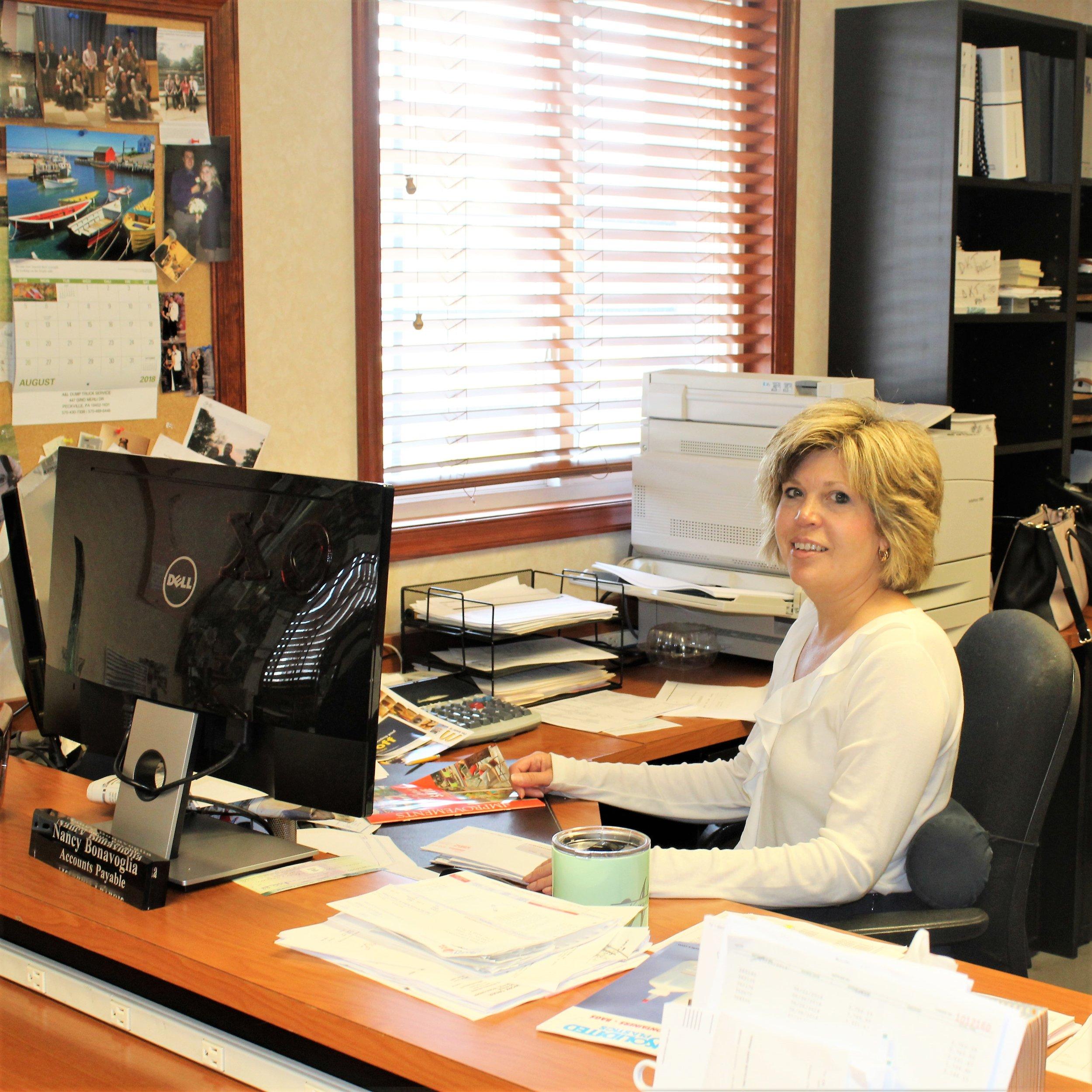 Nancy Bonavoglia, Accounts Payable