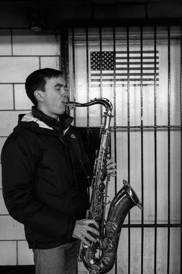 David Yee- Student practicing at 14th St- NYC. /  © Kiki Provatas. No usage without permission