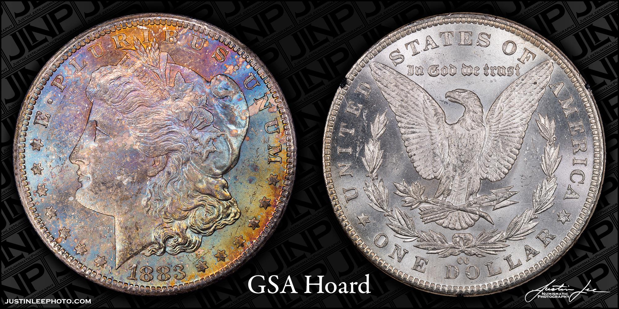 1883-CC Morgan Dollar GSA Raw
