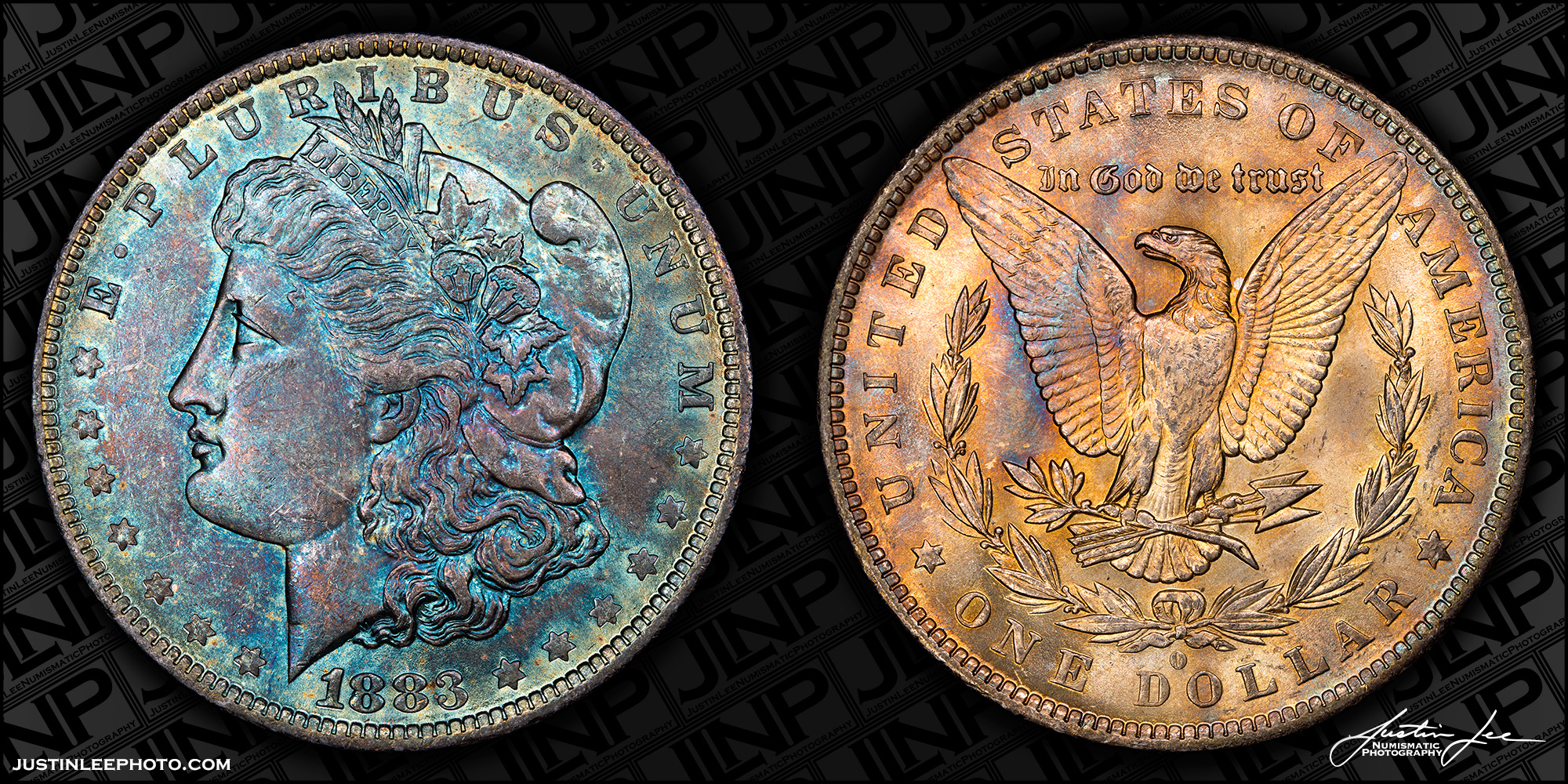 1883-O Morgan Dollar Raw