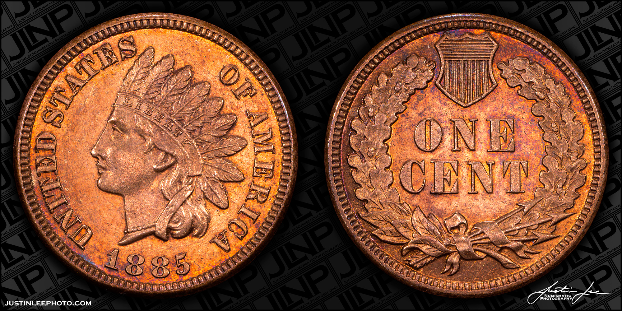 1885 Proof Indian Head Cent Raw