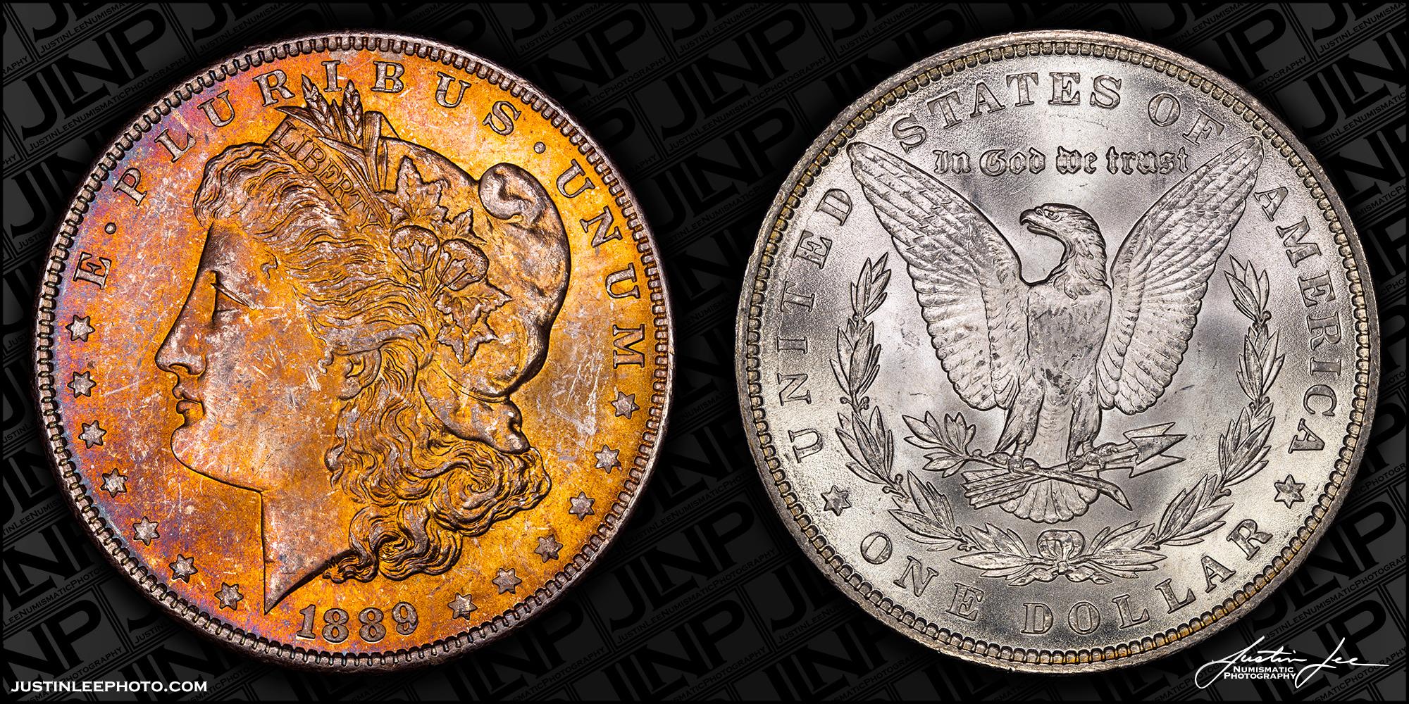 1889 Morgan Dollar Raw