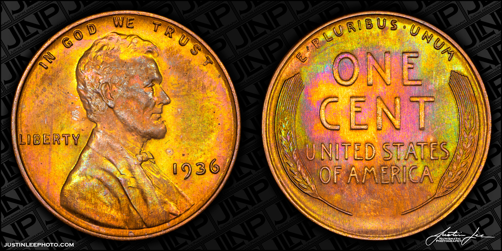 1936 Lincoln Cent Raw