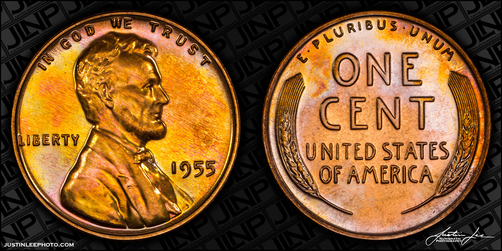 1955 Proof Lincoln Cent Raw