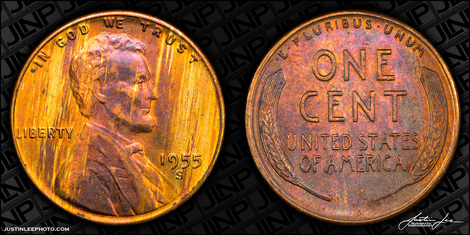 1955-S Lincoln Cent Raw