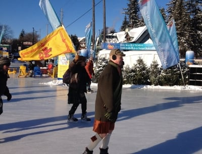 At the ottawa kilt skate in 2015, the lion rampant was used as an alternative flag for scotland.  So far, the royal family has not complained.