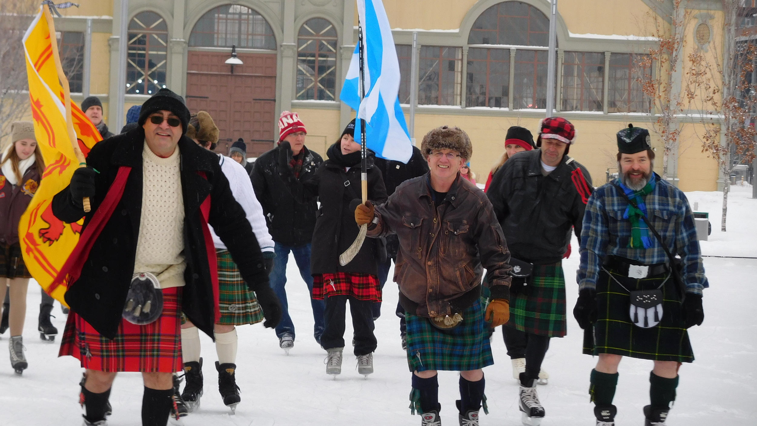 A great day for a kilt skate!