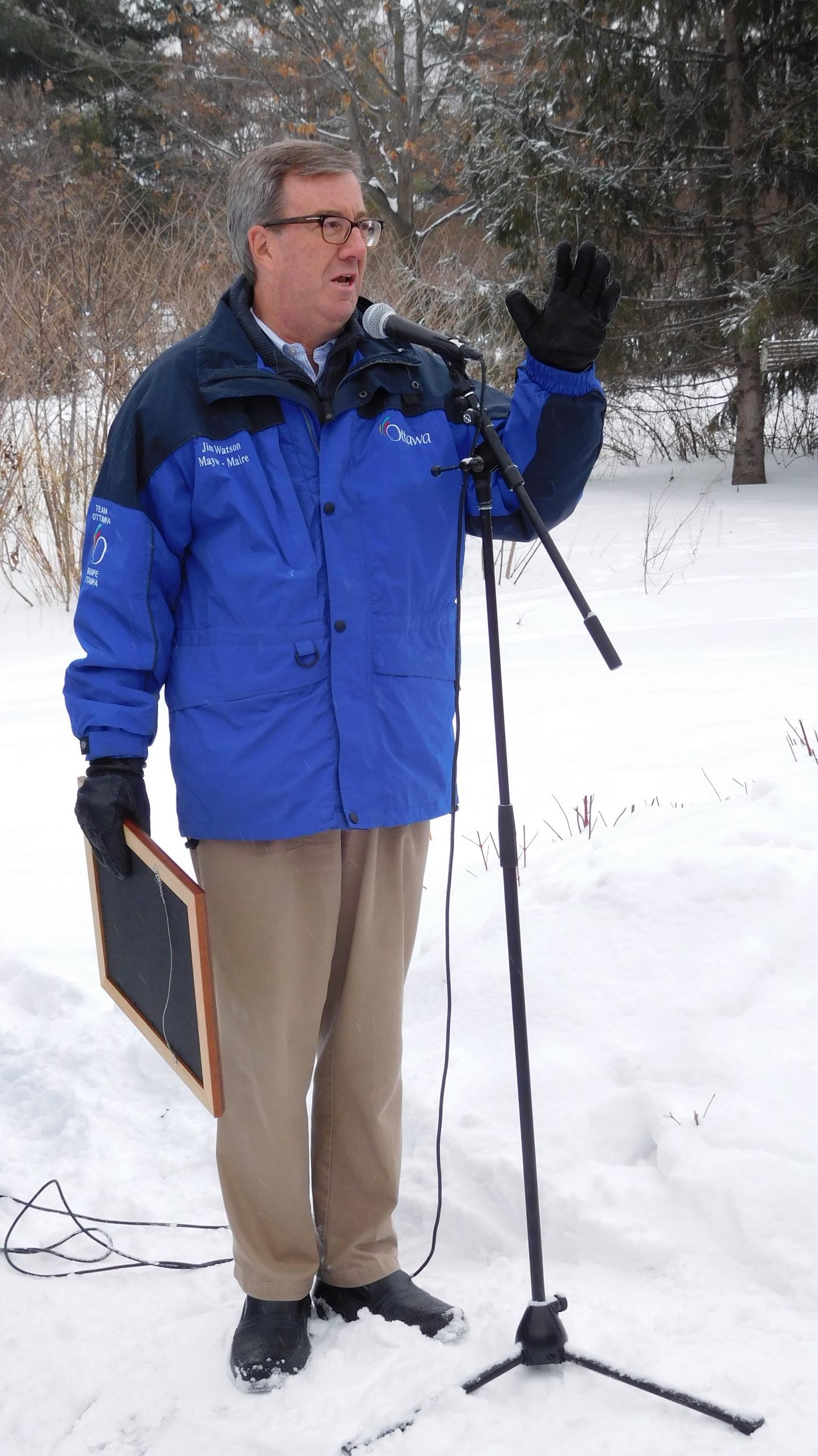 Mayor Jim Watson proclaims Saturday, January 16, 2016, as Sir John A. Macdonald Day in Ottawa.