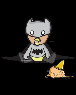 Grayson as Bat Baby