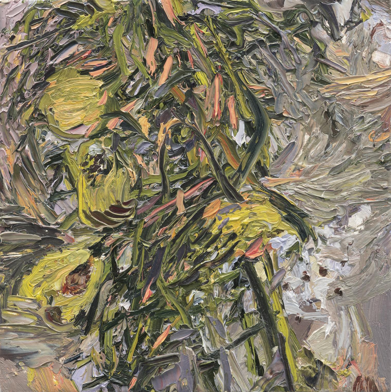 Milkweed No.I   10in x 10in, Oil on Linen, 2018