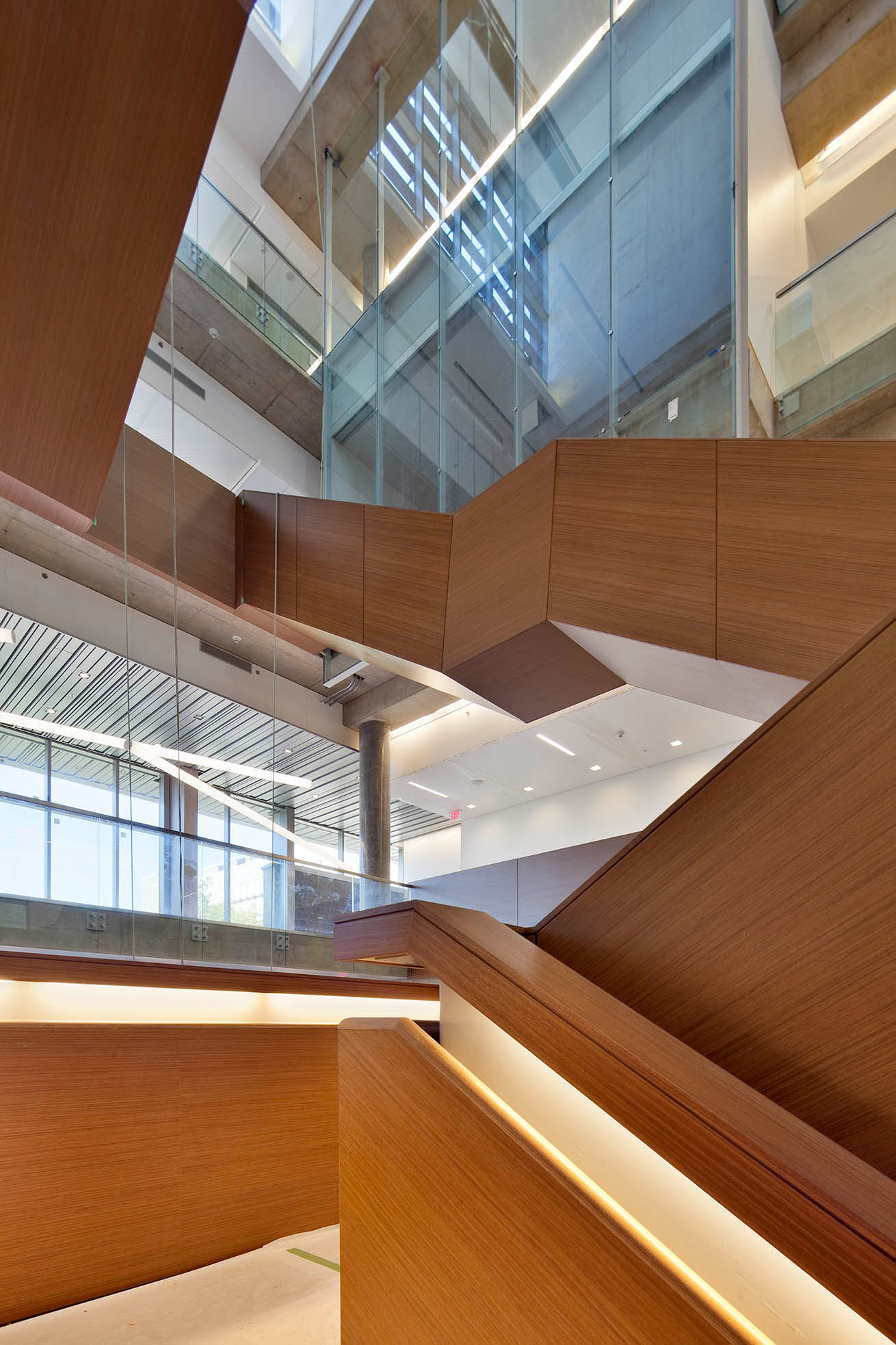 IQC Atrium Stairs