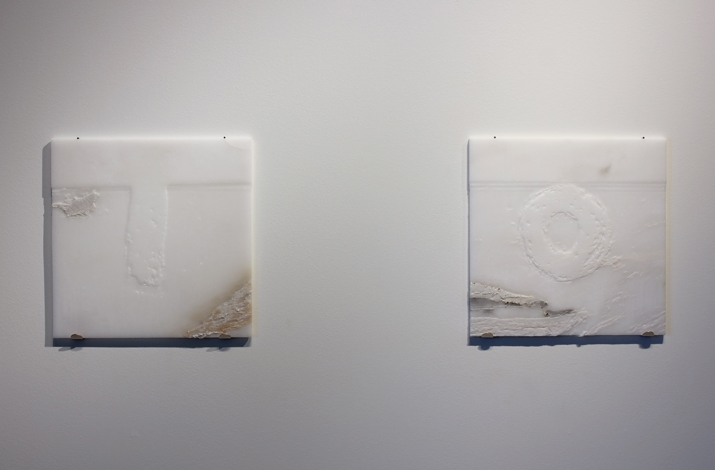 Imperative Immaterial Imagery - Marble Tiles After Hydrochloric Acid Bath