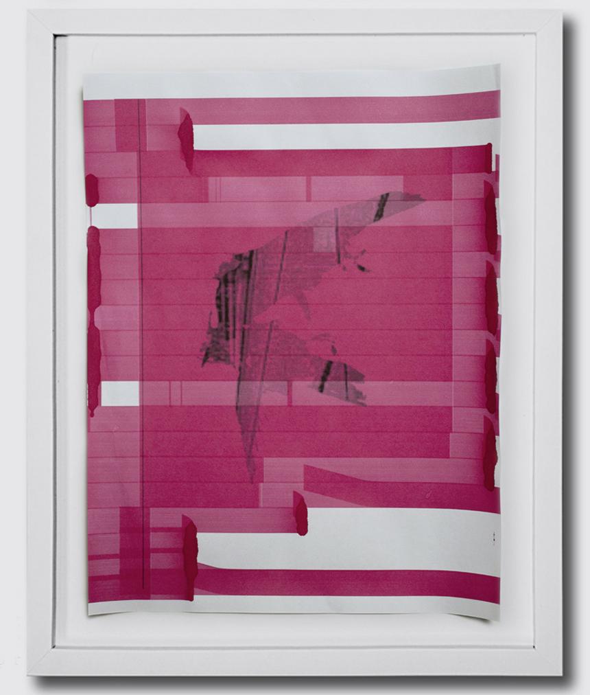 CMYK 1, 2, 3, & 4 unarchival inkjet prints ryan meyer art