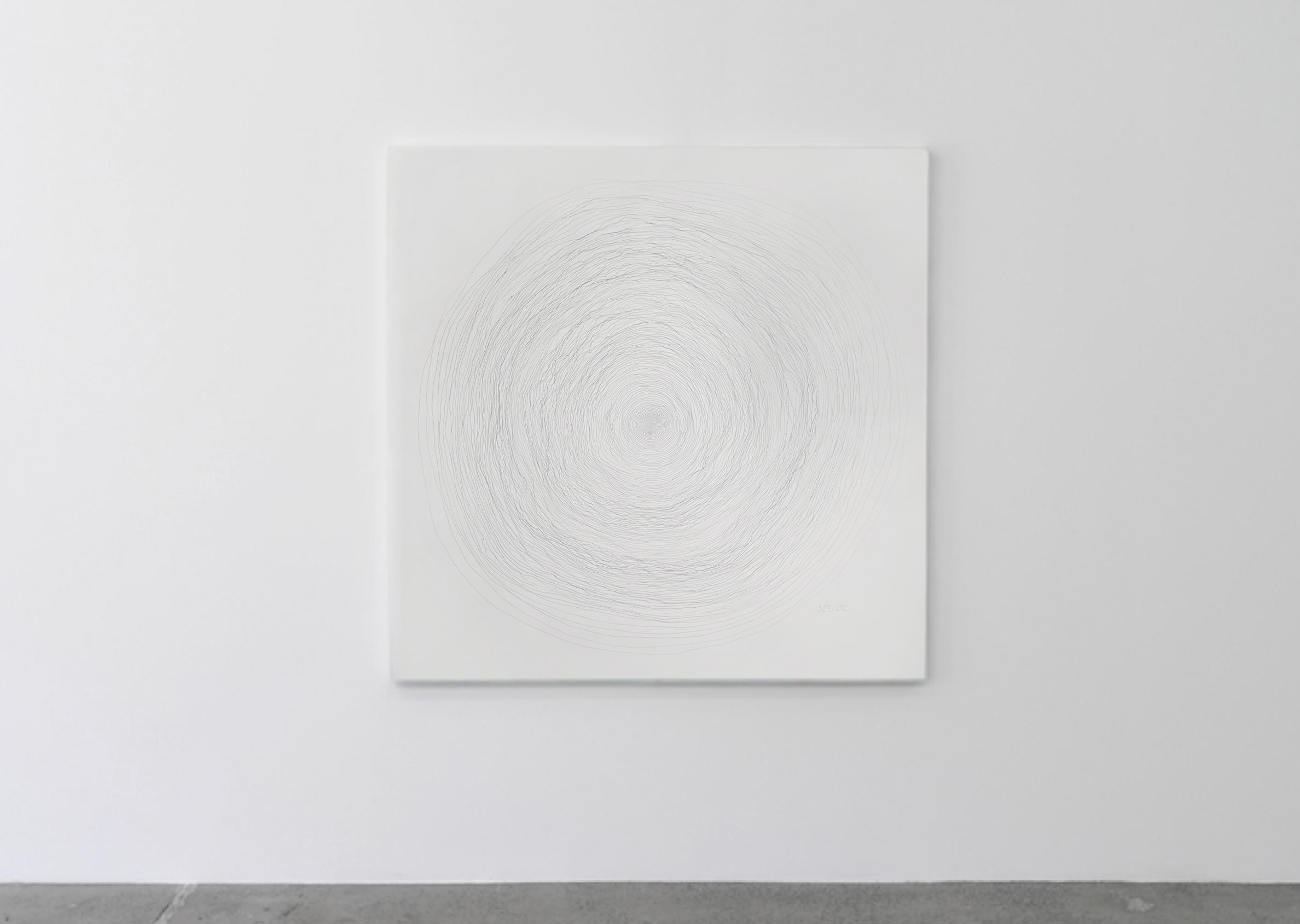 Shiver Lines at 32ºF/0ºC ink on paper ryan meyer