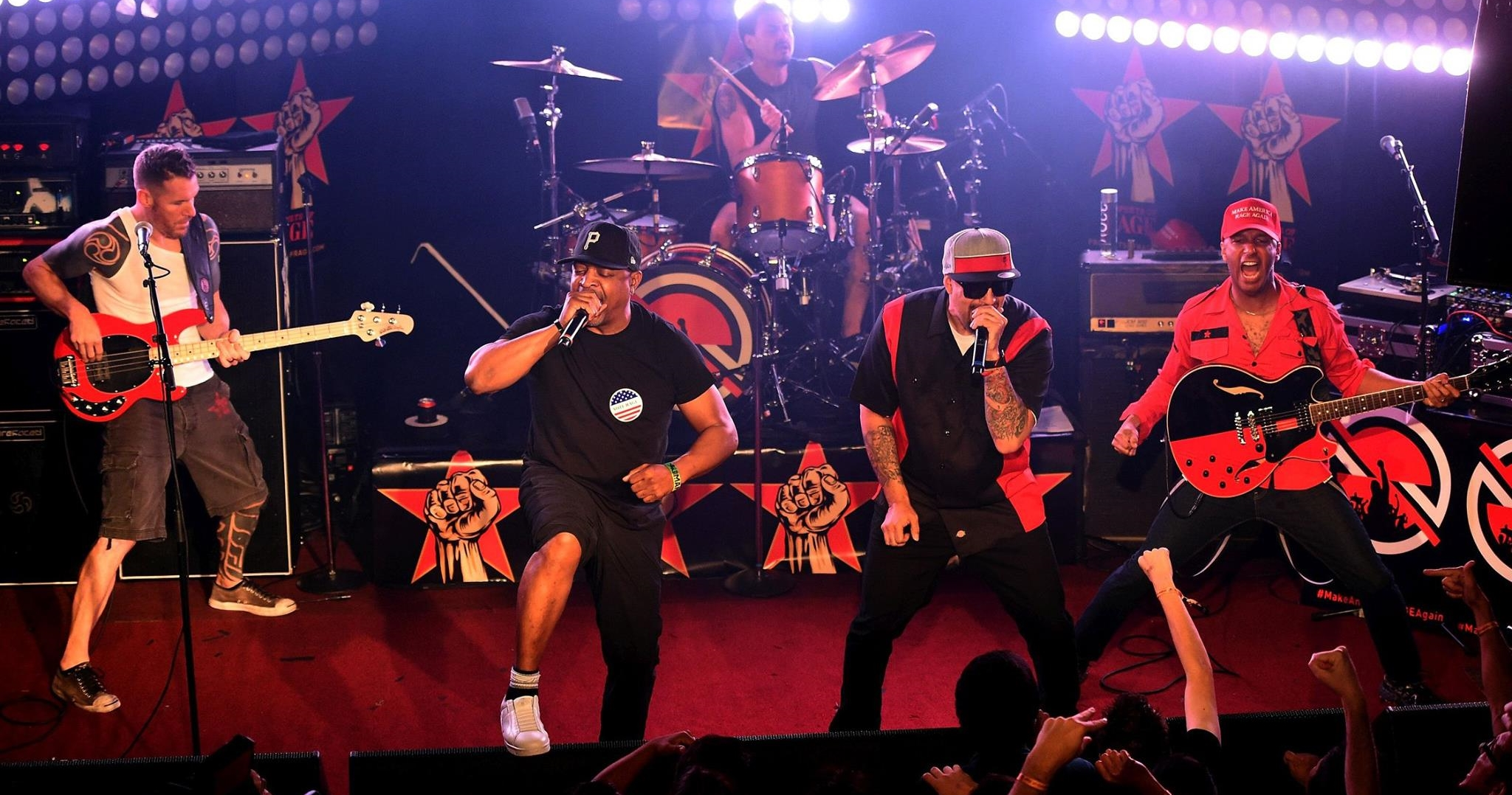 Prophets of Rage would have been the first surprise act to perform a set at Governors Ball.