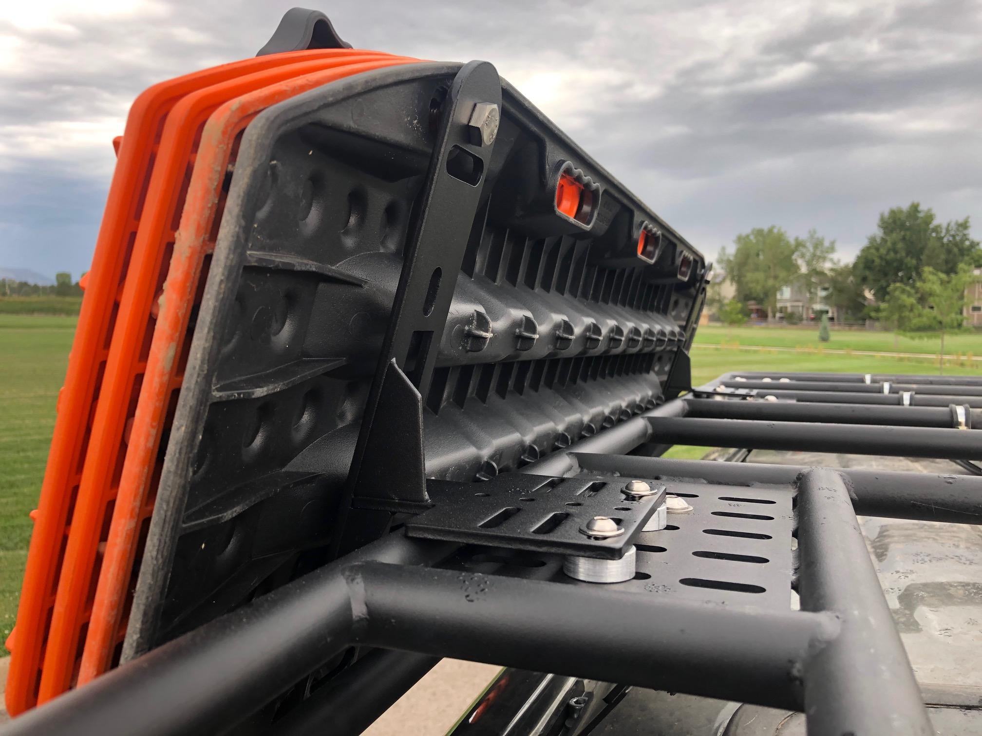 Maxtrax side mount on Gamiviti rack