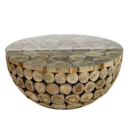 Sofa table Houtblok