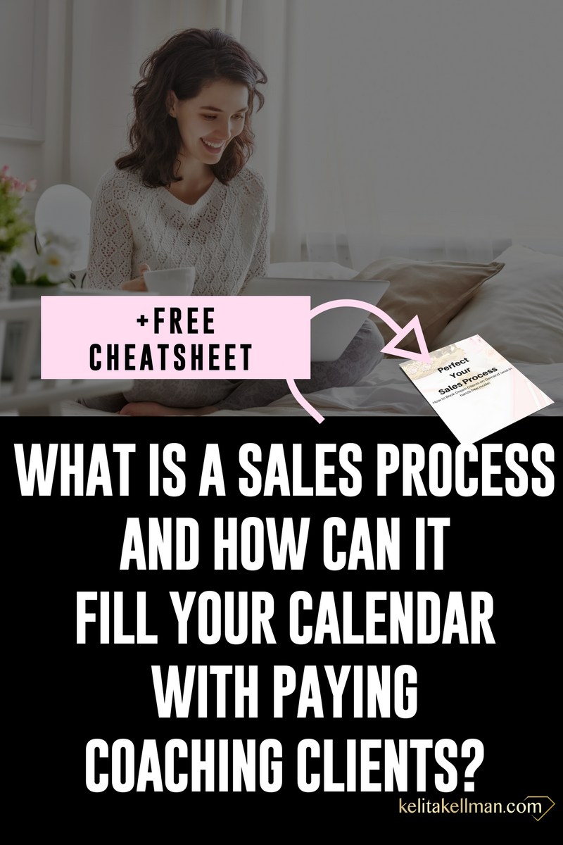what is a sales process and how can it get you paying coaching clients?