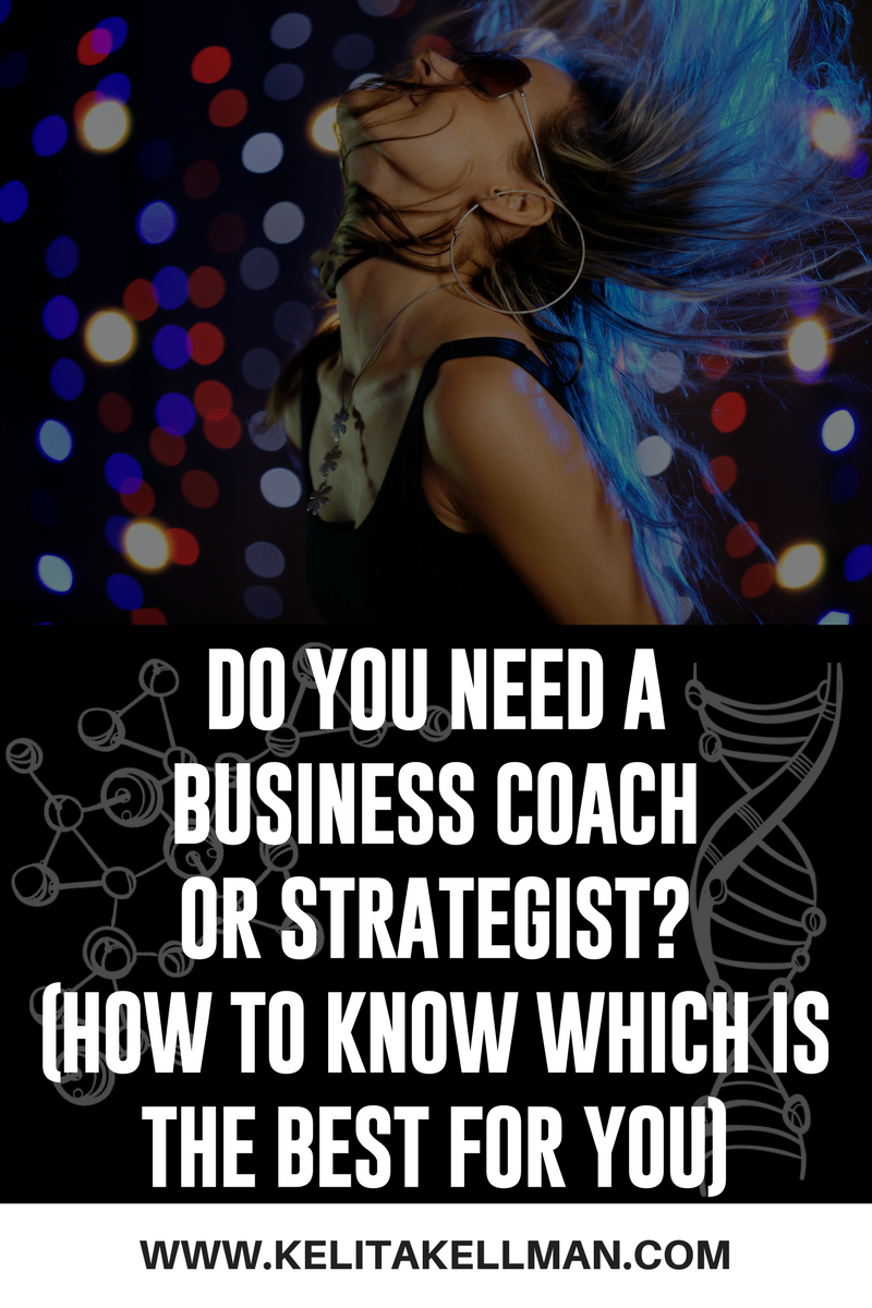 do you need a business coach or business strategist?