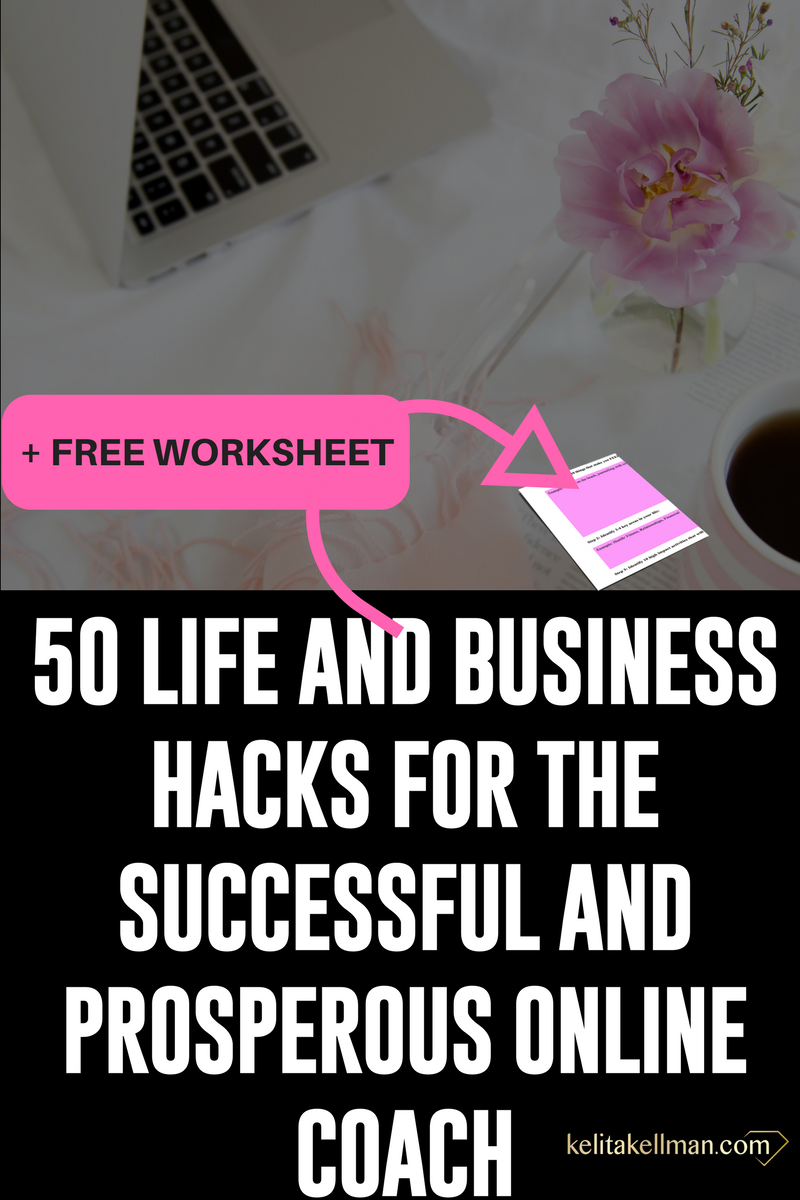 life and business hacks for successful women