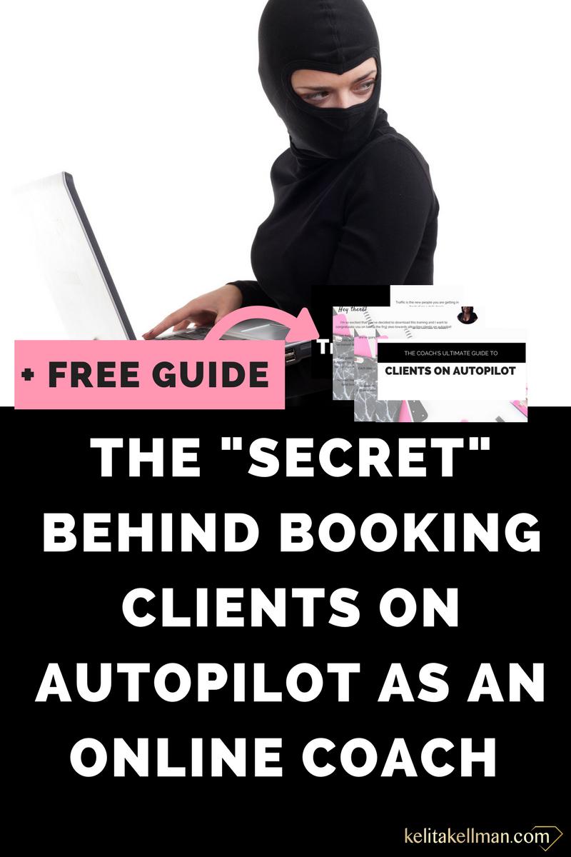get coaching clients on autopilot