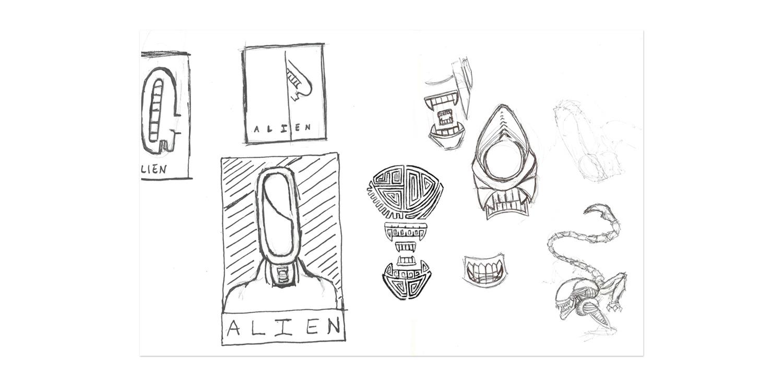 alien_poster_rough_sketches