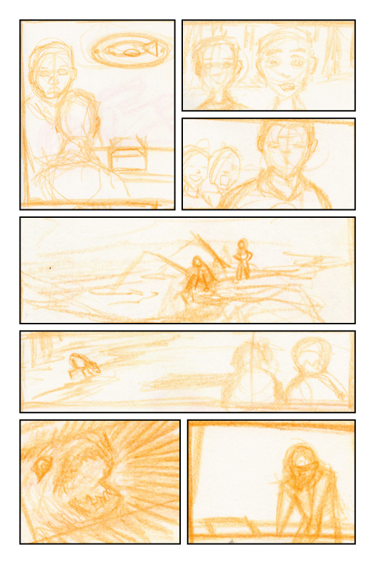 Rough Comic Layout No. 01