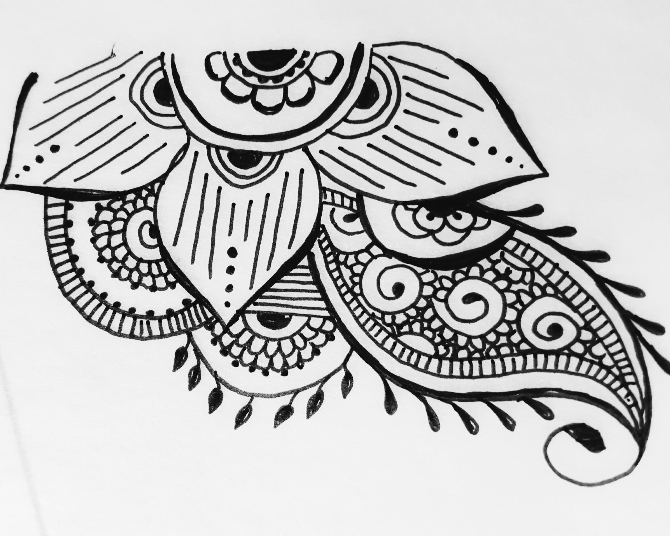 Mehndi design for hindu wedding programs