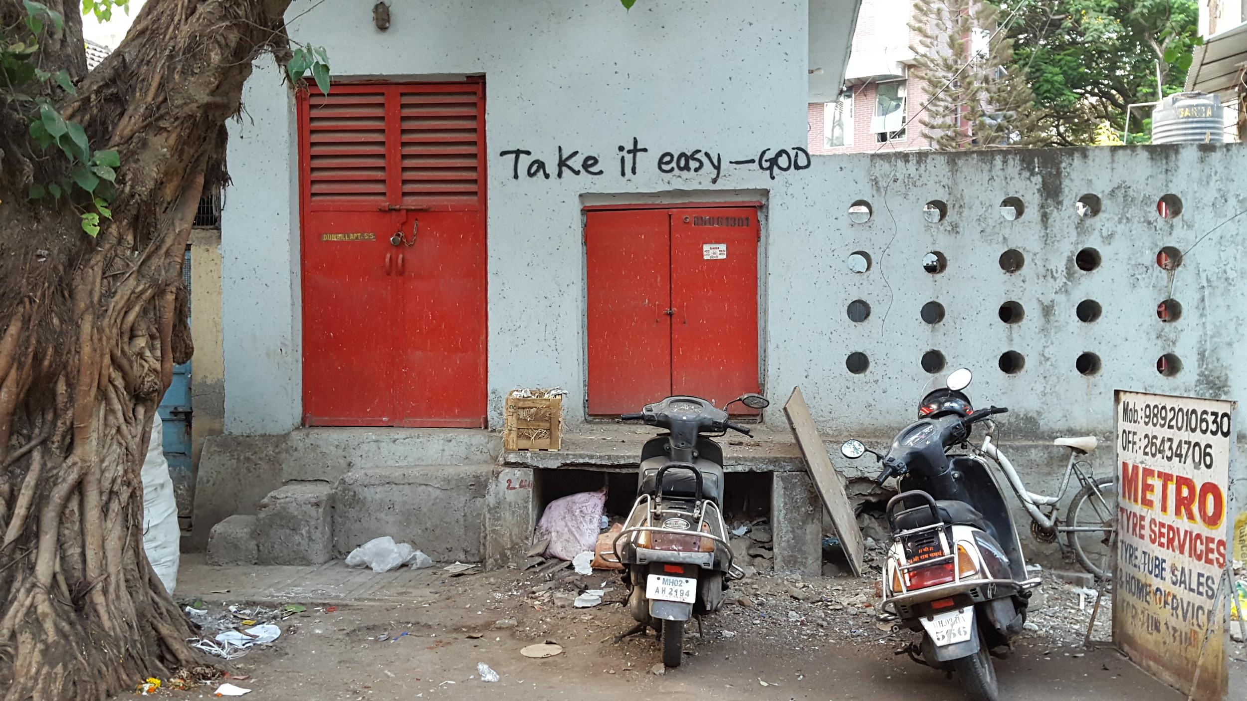 Seen on the streets of Mumbai