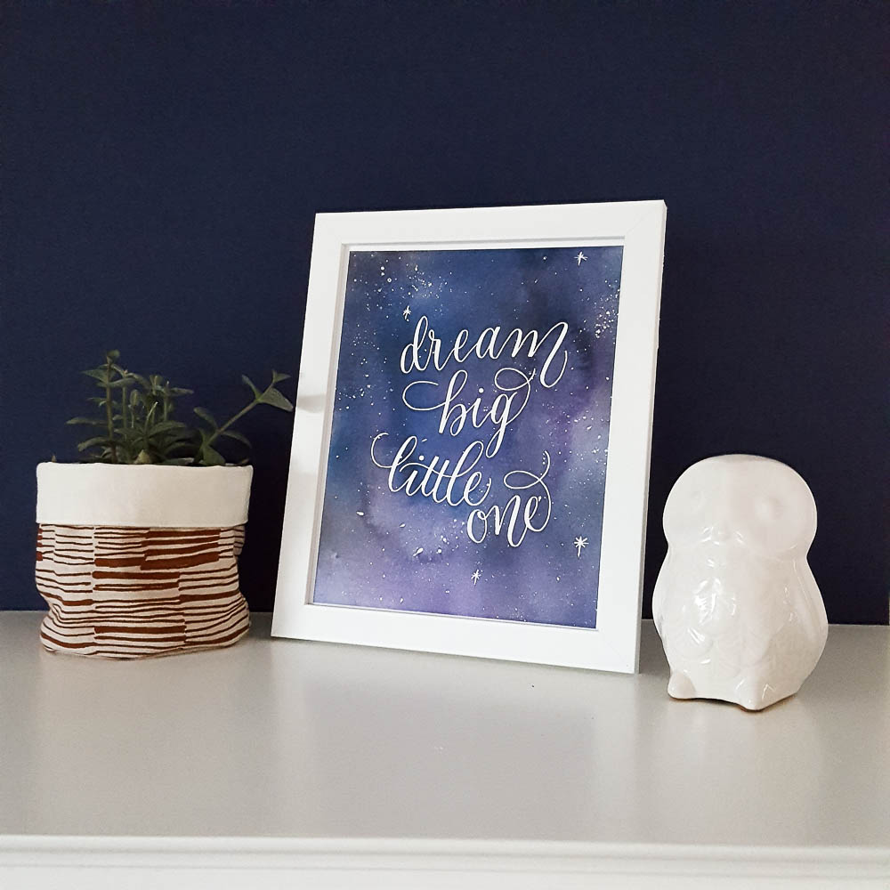 dream big little one space