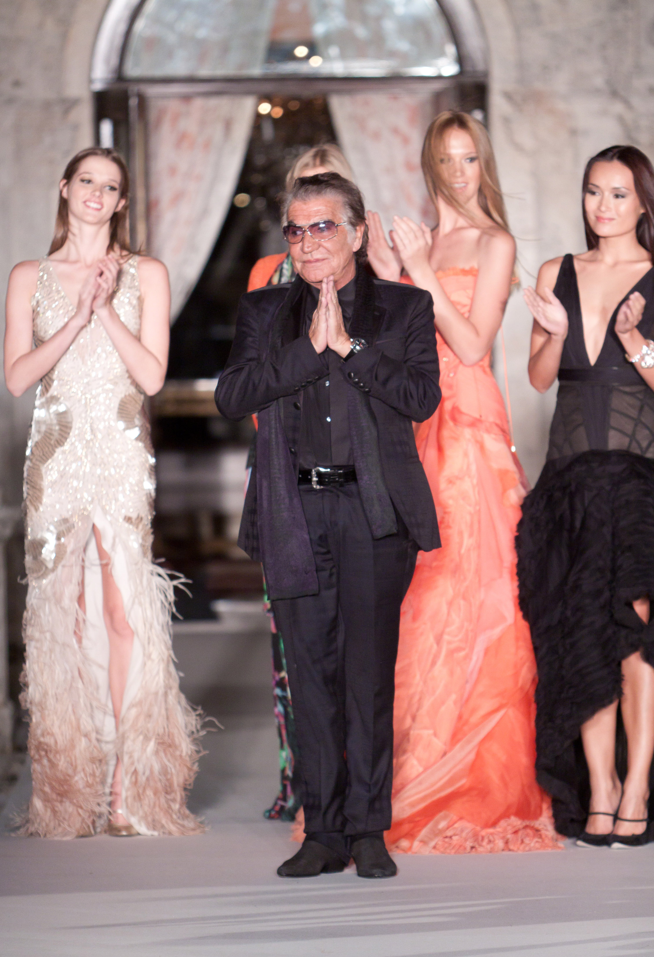 Roberto Cavalli Fashion Show