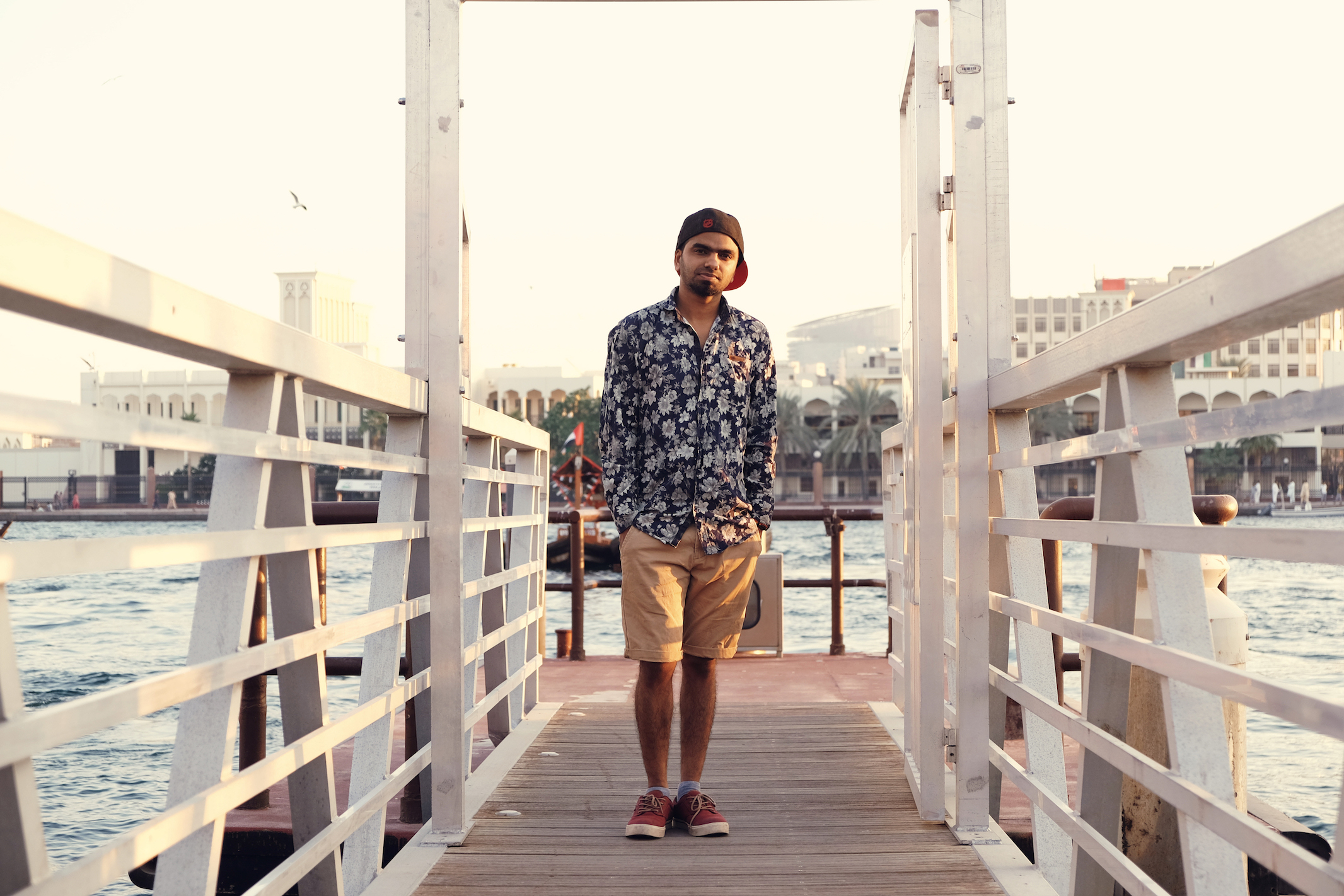 Saheer is a Keralite who as been in Dubai for 2 years now and is working as a graphic designer for a digital advertising company.   What is Dubai to you? How would you define the 'local' culture?      For me, acceptance of diversity is a great attraction, and that is something you will come across a lot in Dubai.   Why should you be chosen for the Karak Heads campaign?   I love music, art and beauty of diversity. The Karak Heads campaign brought that spirit and love to art in a single beat