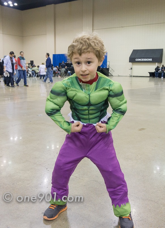 This little Hulk was awesome!