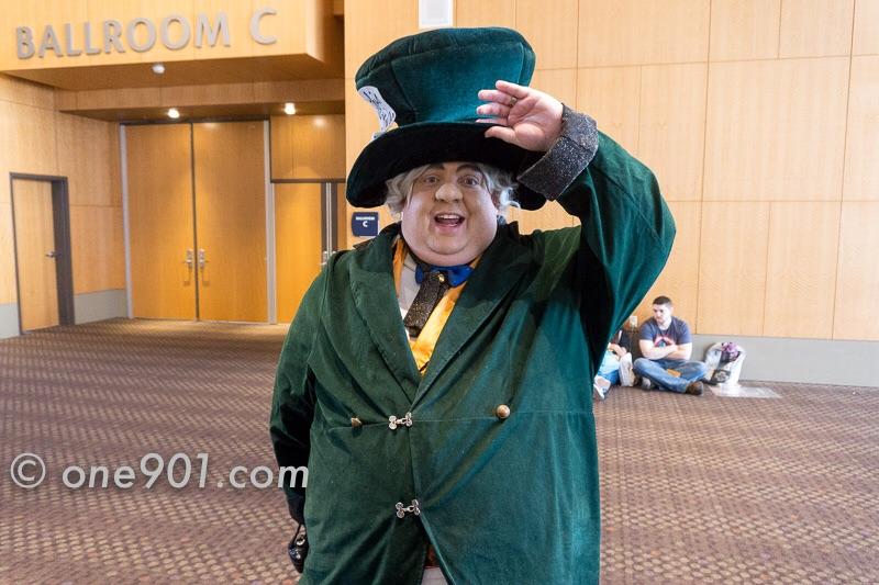 That strange Mad Hatter!