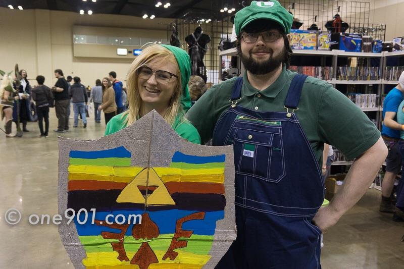 Link and Luigi!