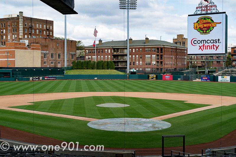 A beautiful Saturday at the ballpark