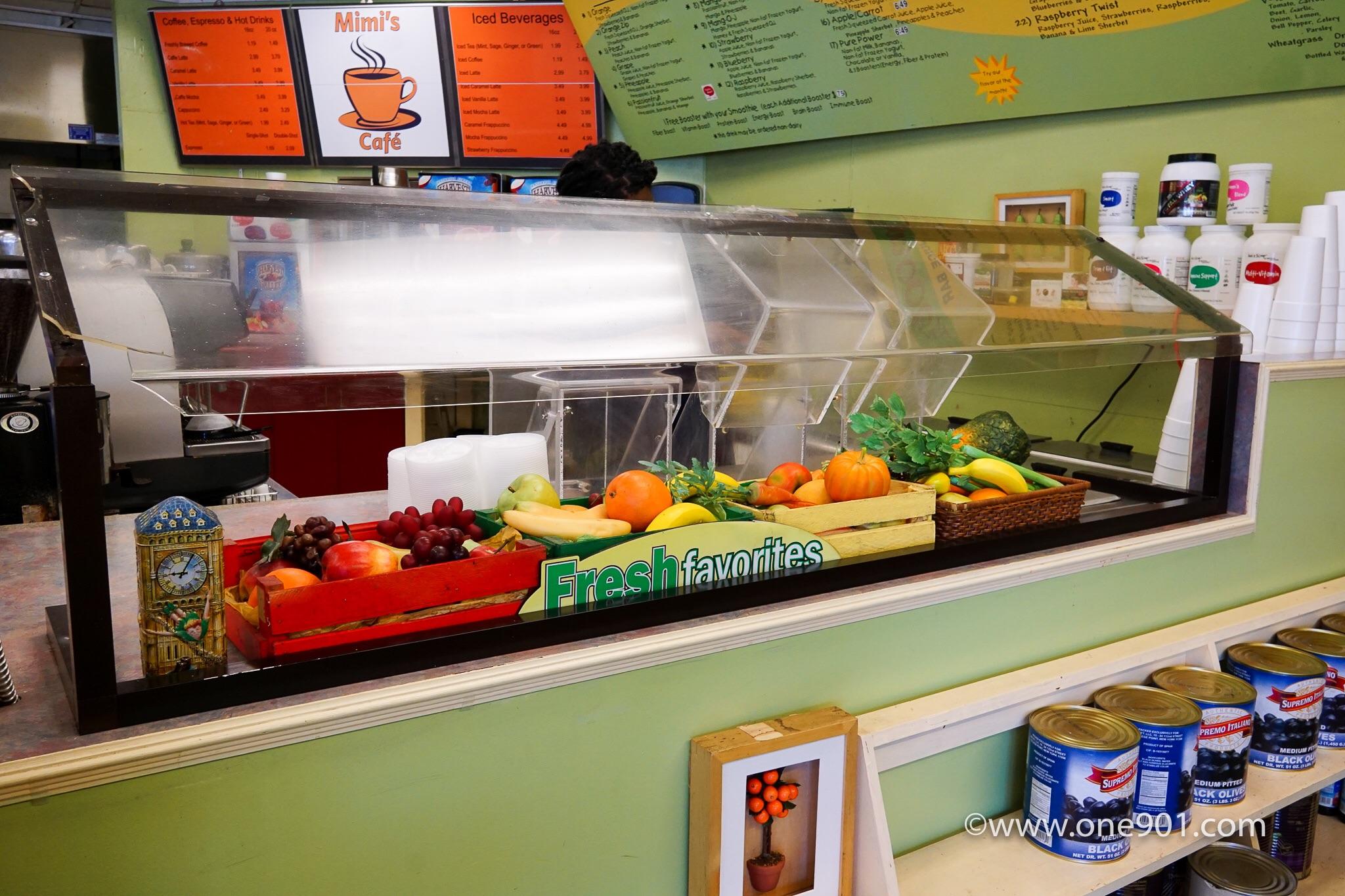 Fresh fruit smoothies!!