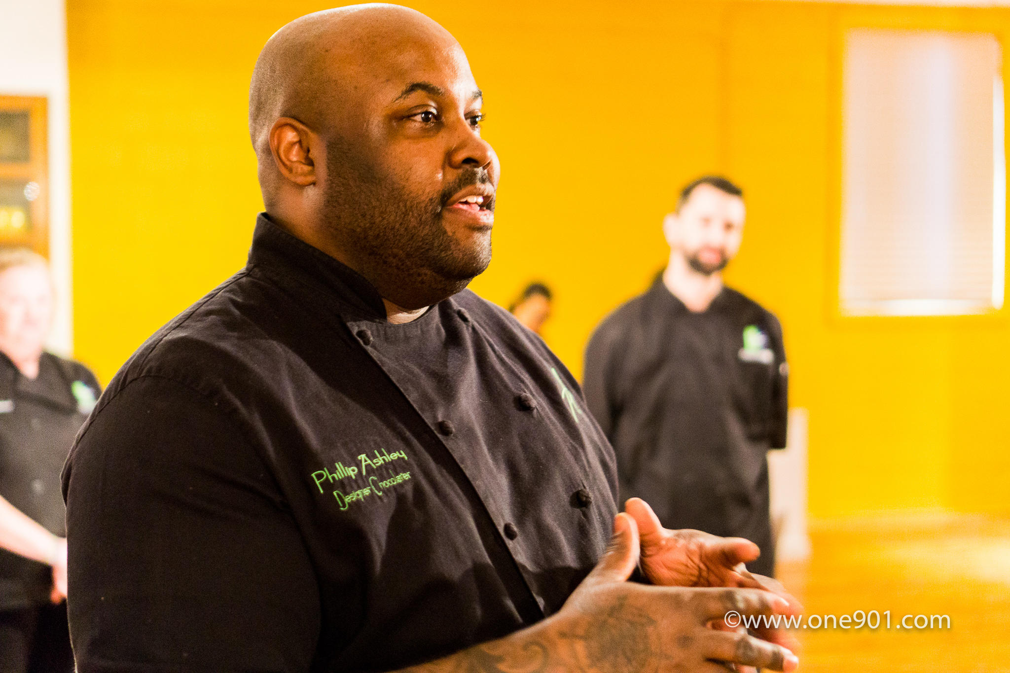 Chef Phillip Ashley