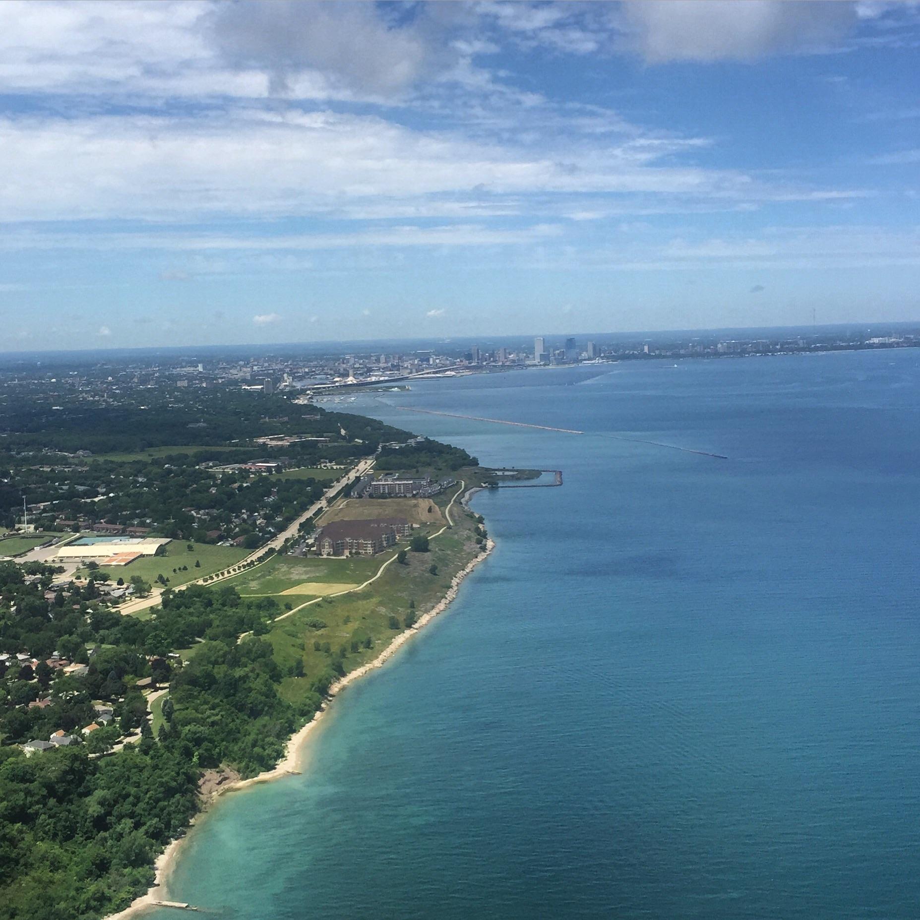 Landing in Milwaukee