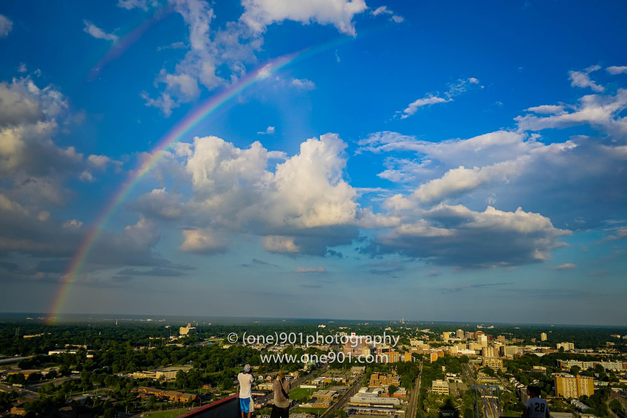 A Rainbow!!
