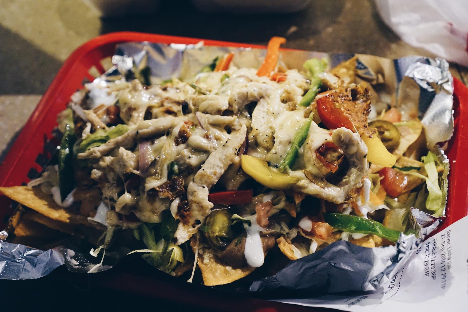 Chicken nachos!!!