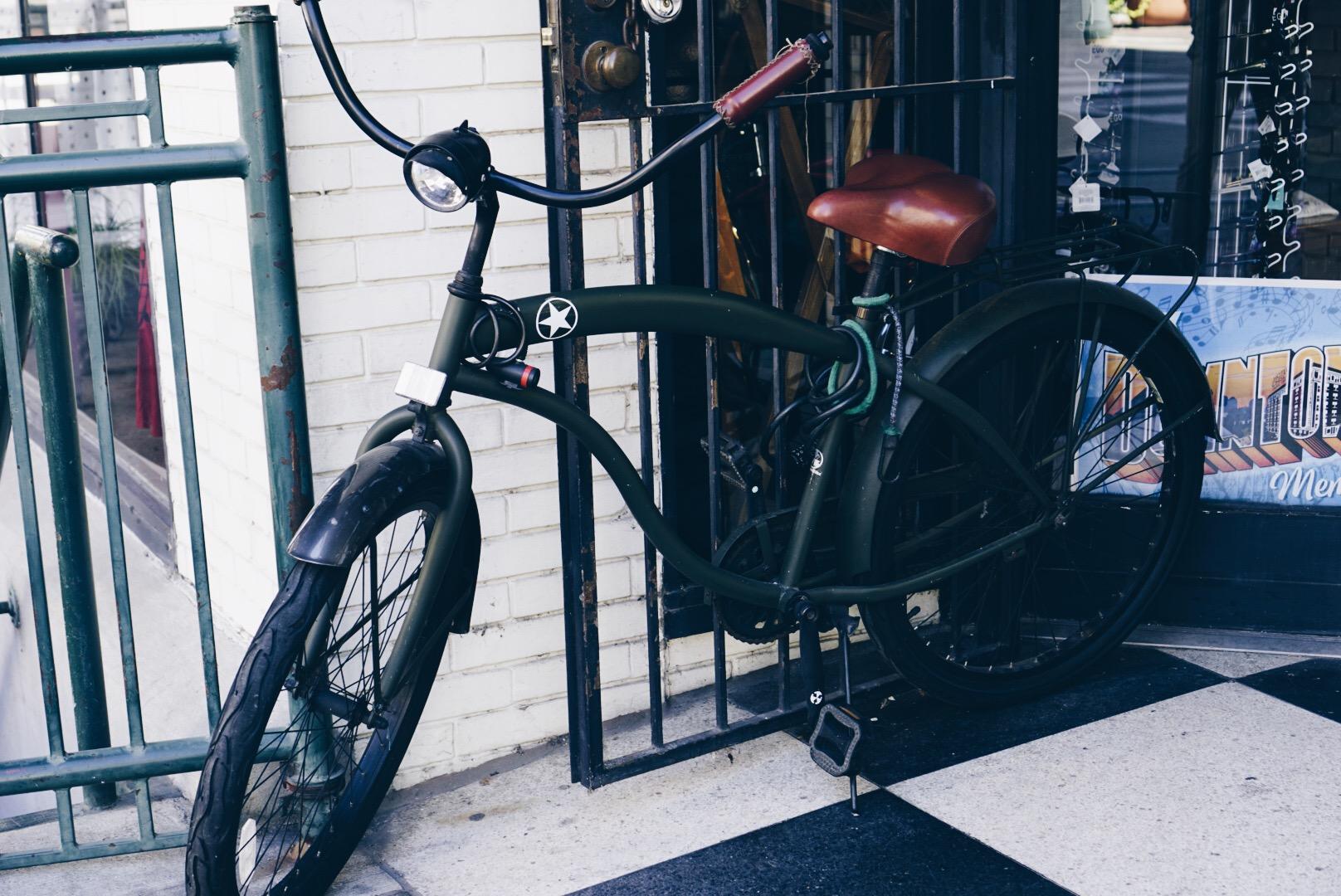 Random cool bike.