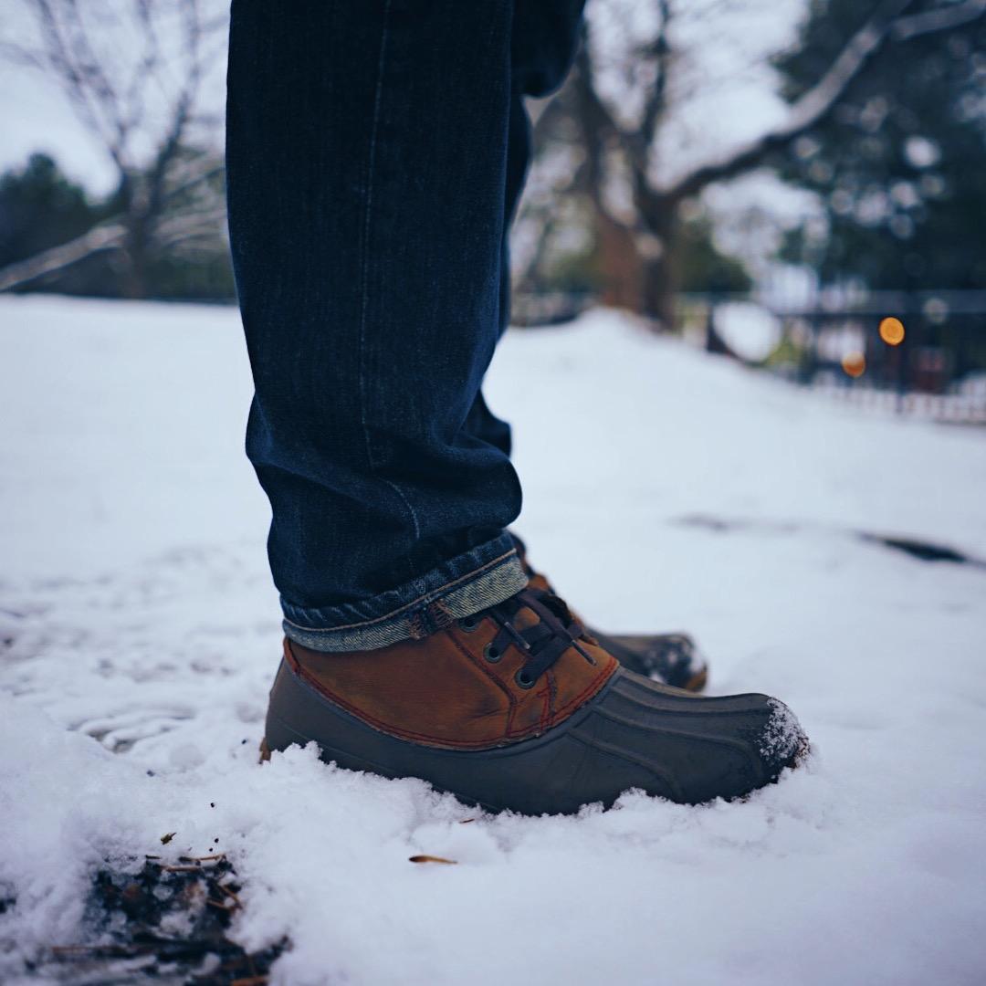 Essential snow footwear