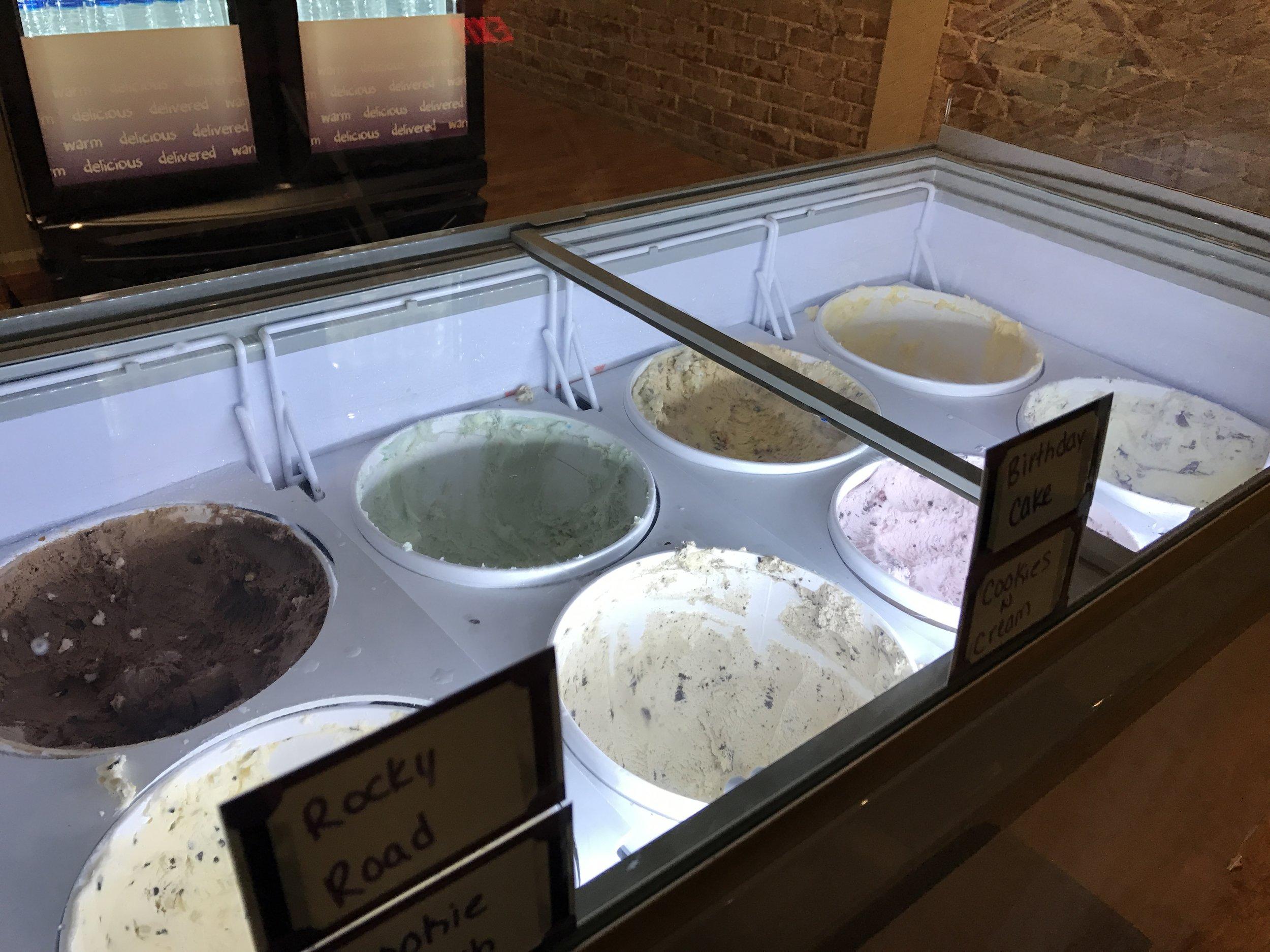 Ice cream Lt Dan!!