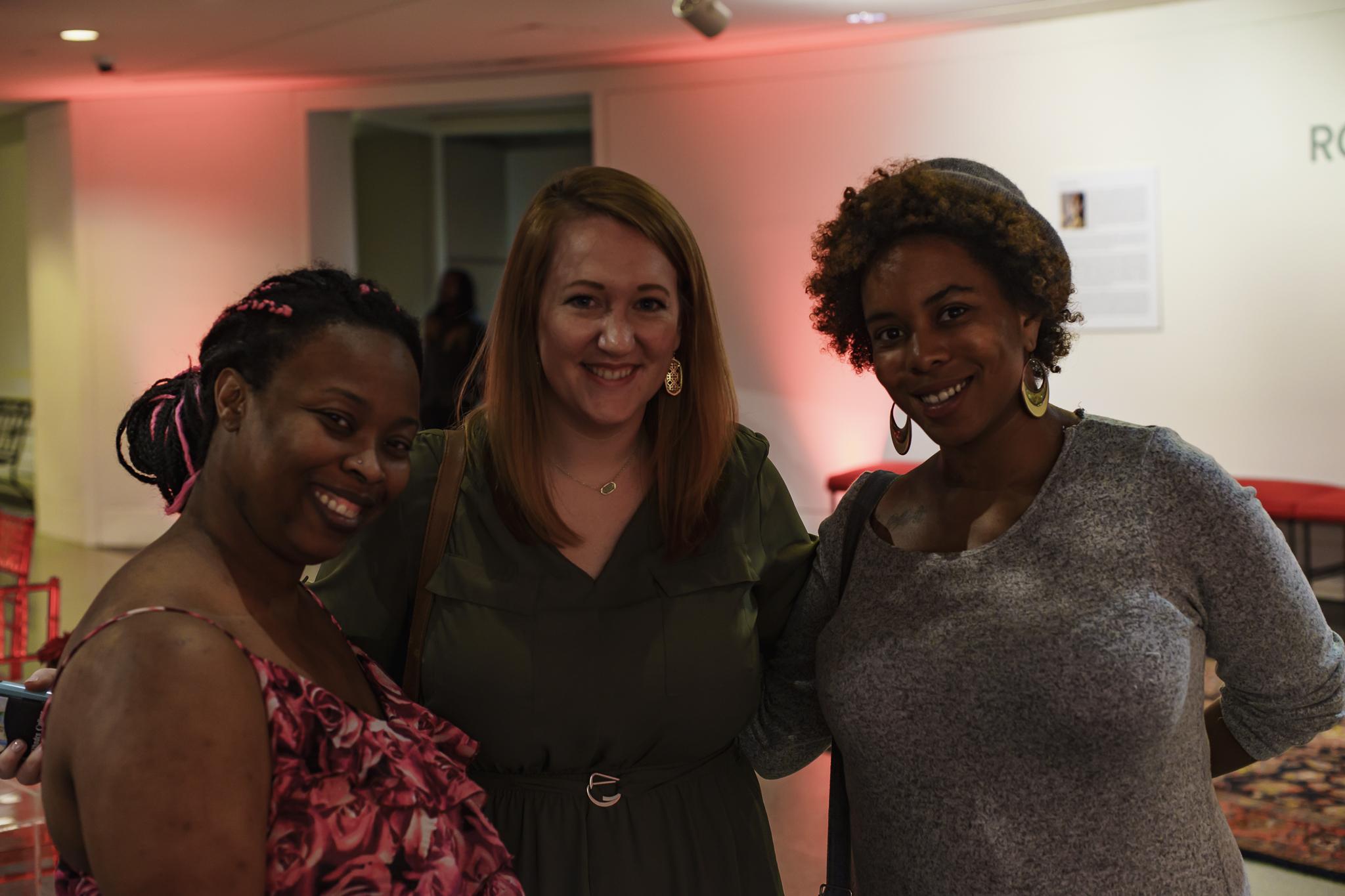 Cassie, Elizabeth, & Alma