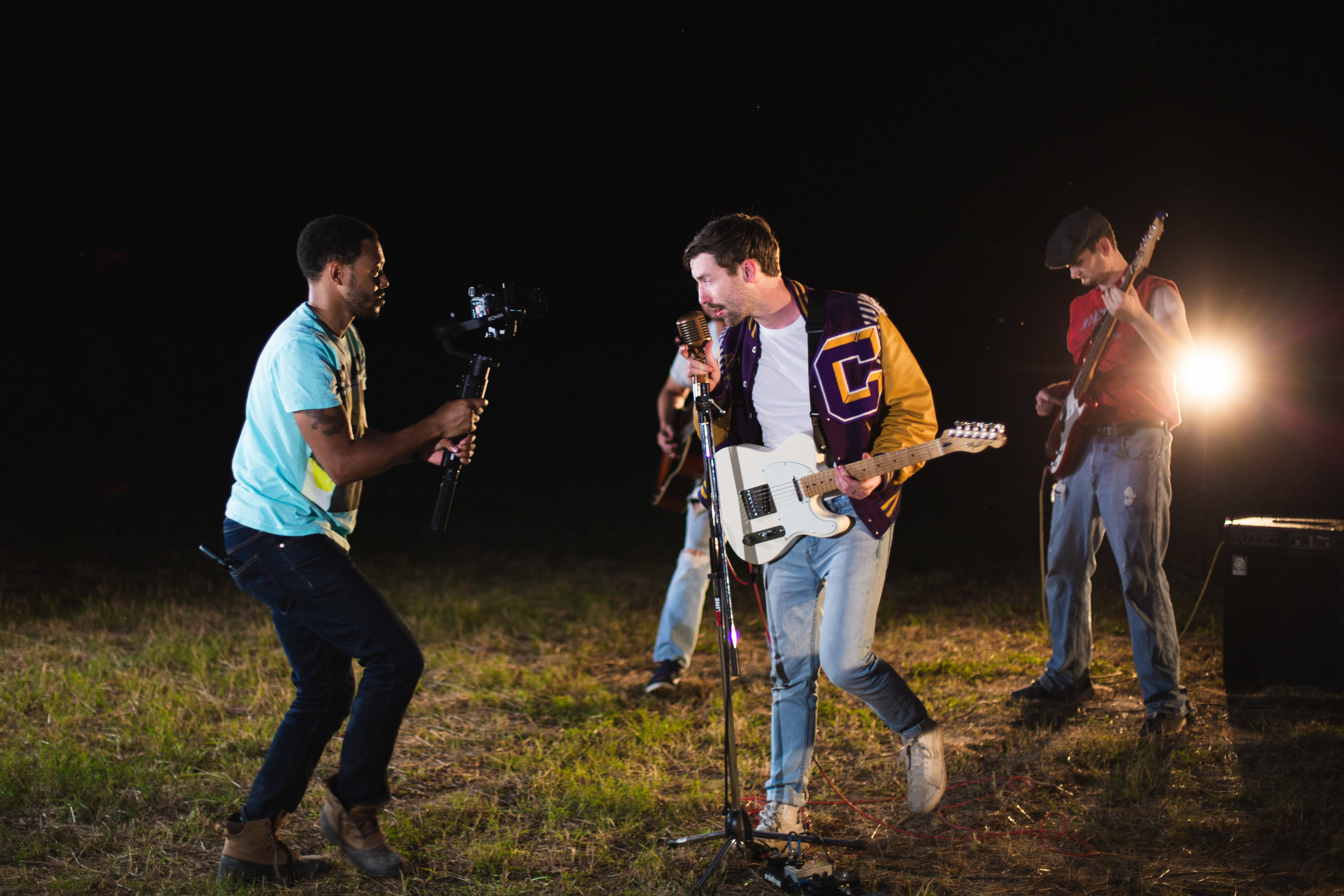 FootShooter music video shoot. Photo cred: @aleksworks